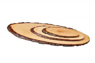 Rindenbretterinkl, Baumscheiben mit Wunschmotiv und Wunschgravur