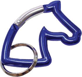 Schlüsselanhänger Pferdekopf (Karabiner)