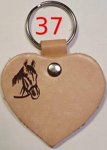 Lederherz, Ledermarke - Schlüsselanhänger mit Herz und Hand in Deutschland gemacht. div. Motive mit kostenloser Wunschgravur PORTOFREI