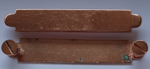 Halfterschild Roségld 60, 70mm Portofrei & Kostenloser Wunschgravur