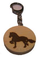 Schlüsselanhänger Pferd.